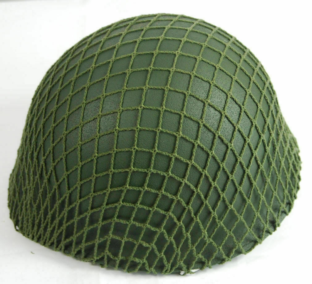 WWII US Army M1 Helmet Cover TACTICAL Cotton Camouflage Net