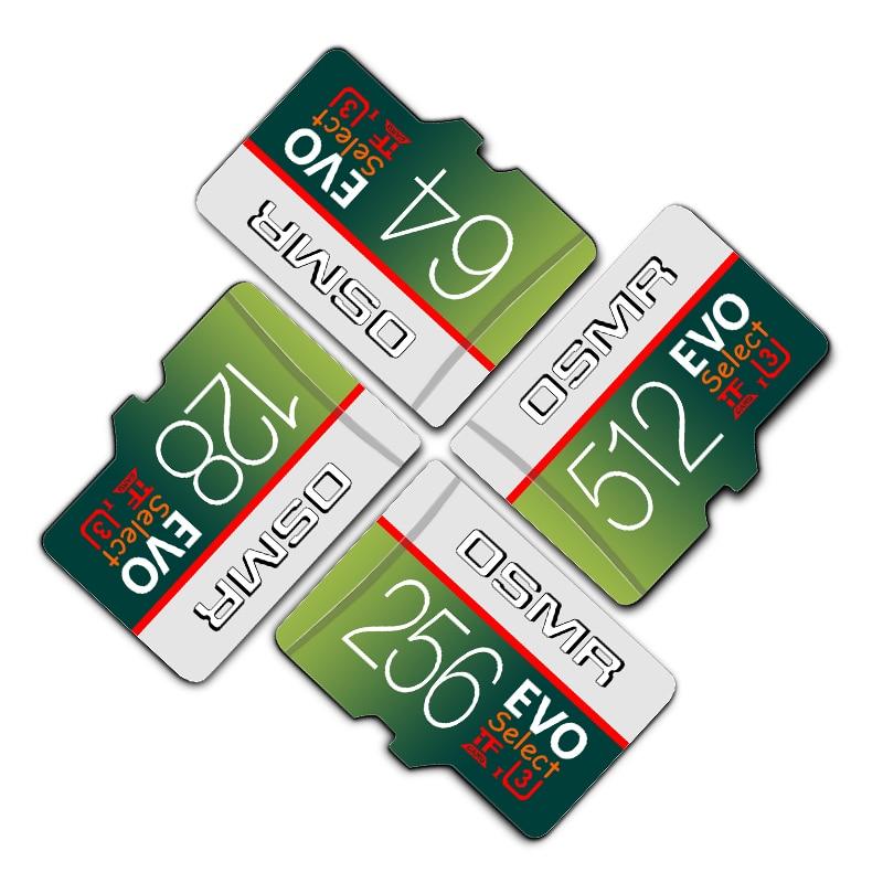 Micro Sd Card 256gb Memory Sd Card Microsd 128gb 64gb 512gb Mini Card 32gb 8GB 16 GB Class10 Flash Memory Card For Smart Phone