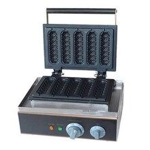 цена на Corn Dog Machine Commercial Five Piece Hot Dog Waffle Machine For Sale