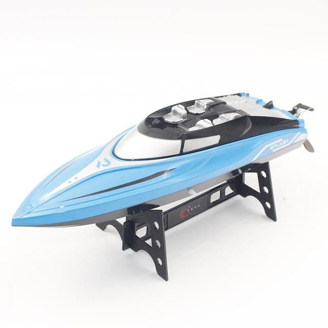 LeadingStar 2.4GHz 4CH 25KM/h High Speed Mini RC Boat for Kid Toys Gift 2