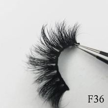 100% Real 3D Mink Eyelashes Natural Long Lasting Lashes Dramatic Eyelash Extension Makeup Handmade Thick False