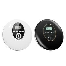 Estilo Redondo-Reproductor DE CD portátil, auriculares HiFi, Walkman de CD, Reproductor de disco a prueba de golpes