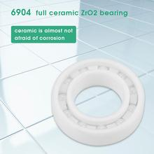 ZrO2 Full Ceramic Miniature 6904 Ball Bearing 20*37*9mm Ball Bearing White цены онлайн