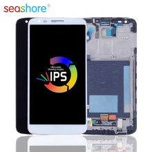 ORIGINALE Per LG G2 D802 LCD Touch Screen Digitizer Assembly Per LG G2 D800 Display con Telaio di Ricambio D801 D803 VS980 LS980(China)