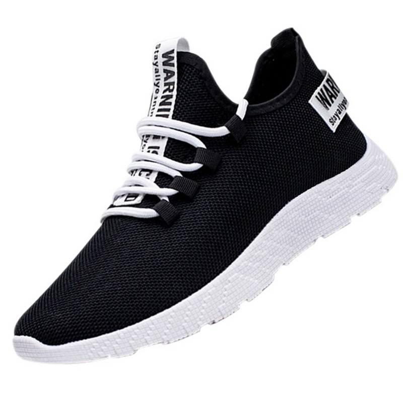 Mesh Shoes Men 2019 Fashion Casual Sneakers Lace Up Lightweight Breathable Walking Sneakers Tenis Masculino Zapatos Innrech Market.com