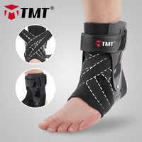 Tmt tornozelo cinta suporte ajustável bandagem esportes pé tornozeleira envoltório splint elástico para protetor de ferimento entorses guarda unisex 1 pc