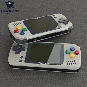 Image 4 - Powkiddy Q70 açık sistem Video oyunu konsolu Retro el, 2.4 inç ekran taşınabilir çocuk oyun oyuncuları 16GB hafıza kartı