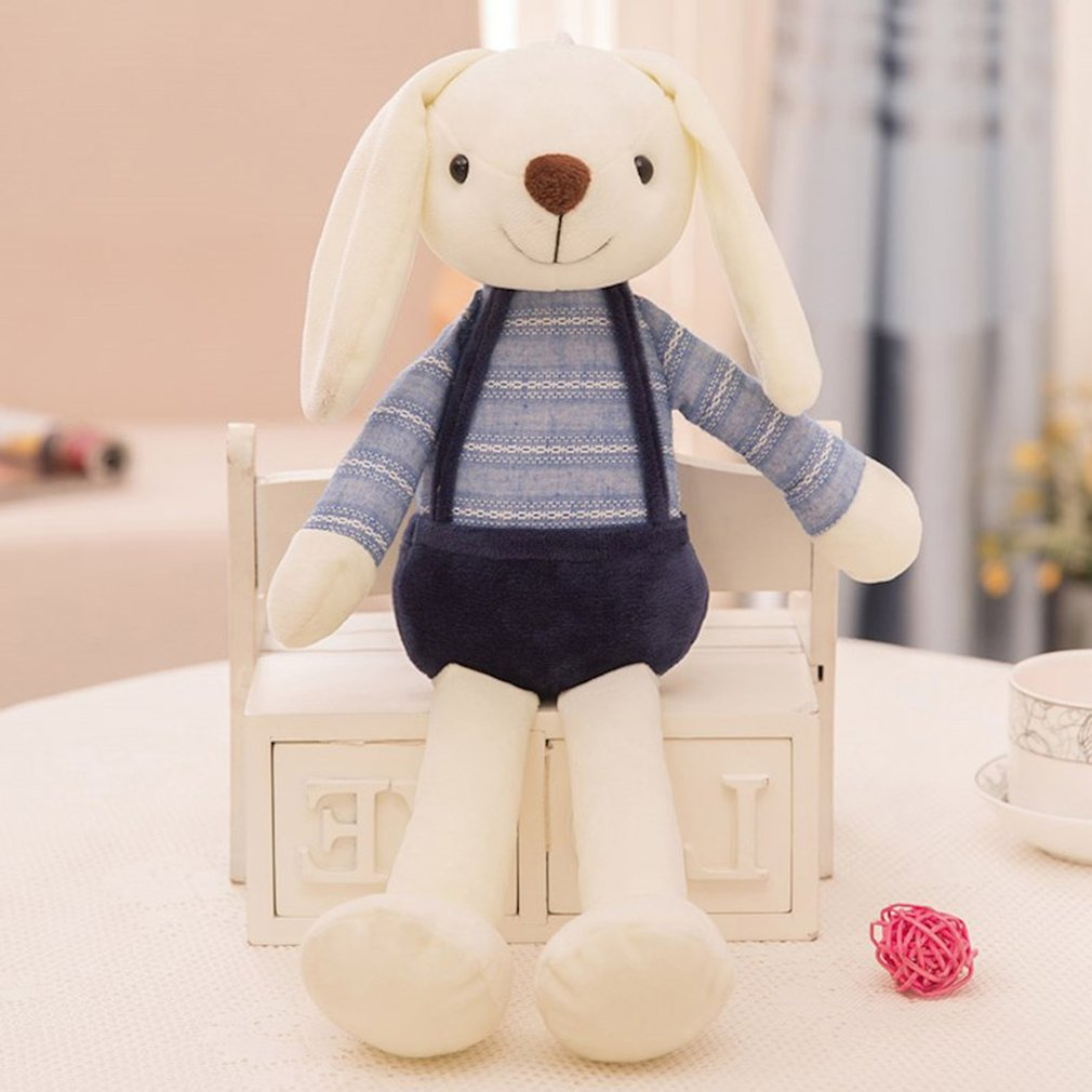 Baby Kids Girls Rabbit Bunny Sleeping Comfort Stuffed Soft Plush Dolls Toy Fun S
