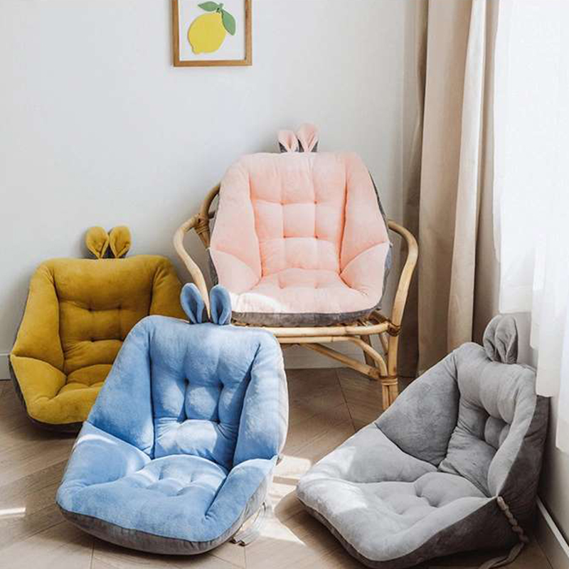 45cm Comfort Semi Enclosed Warm Seat Cushion For Office Chair Pain Relief Cushion Sciatica Bleacher Seats With Backs And Cushion Plush Pillows Aliexpress