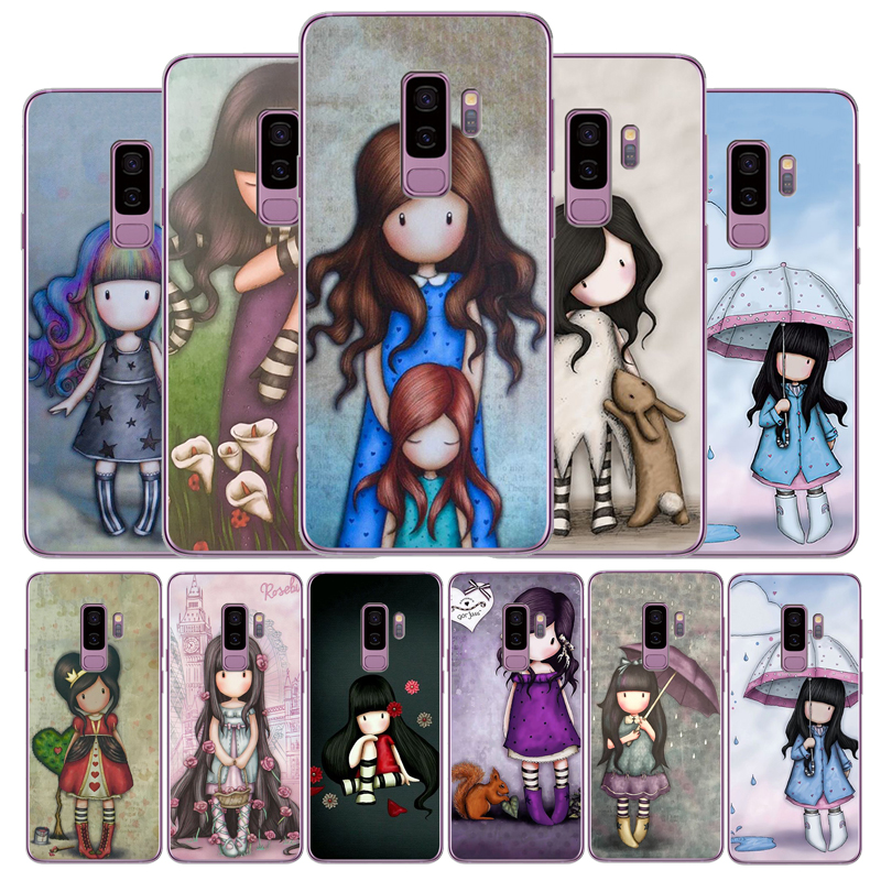 Cartoon Lovely Santoro Gorjuss Coque TPU Soft Phone Case For Samsung Galaxy S6 S7 EDGE S8 S9 S10 PLUS S10LITE NOTE8 NOTE9(China)
