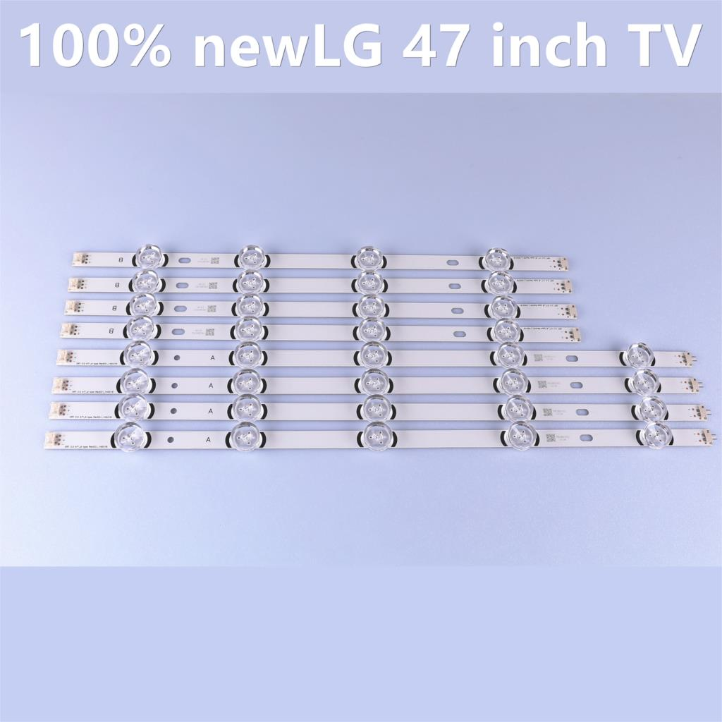 LED Backlight Strip For LG47LY340C 6916L-1780A 6916L-1779A 6916L-1948A 6916L-1949A 47LB6500 47GB651C 47LB570B 47LB5600 47LB5800
