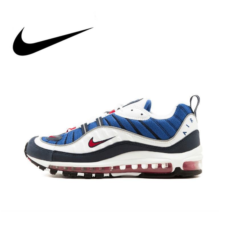 Original Nike Air Max OG 98 Gundam Men's Running Shoes Breathable Designer Footwear Jogging Sports Outdoor Sneakers 640744-100