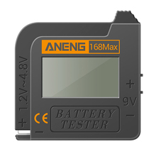 Battery-Tester Power-Tools-Accessories Display-Battery Fuel-Gauge-Tool for Carbon-Zinc