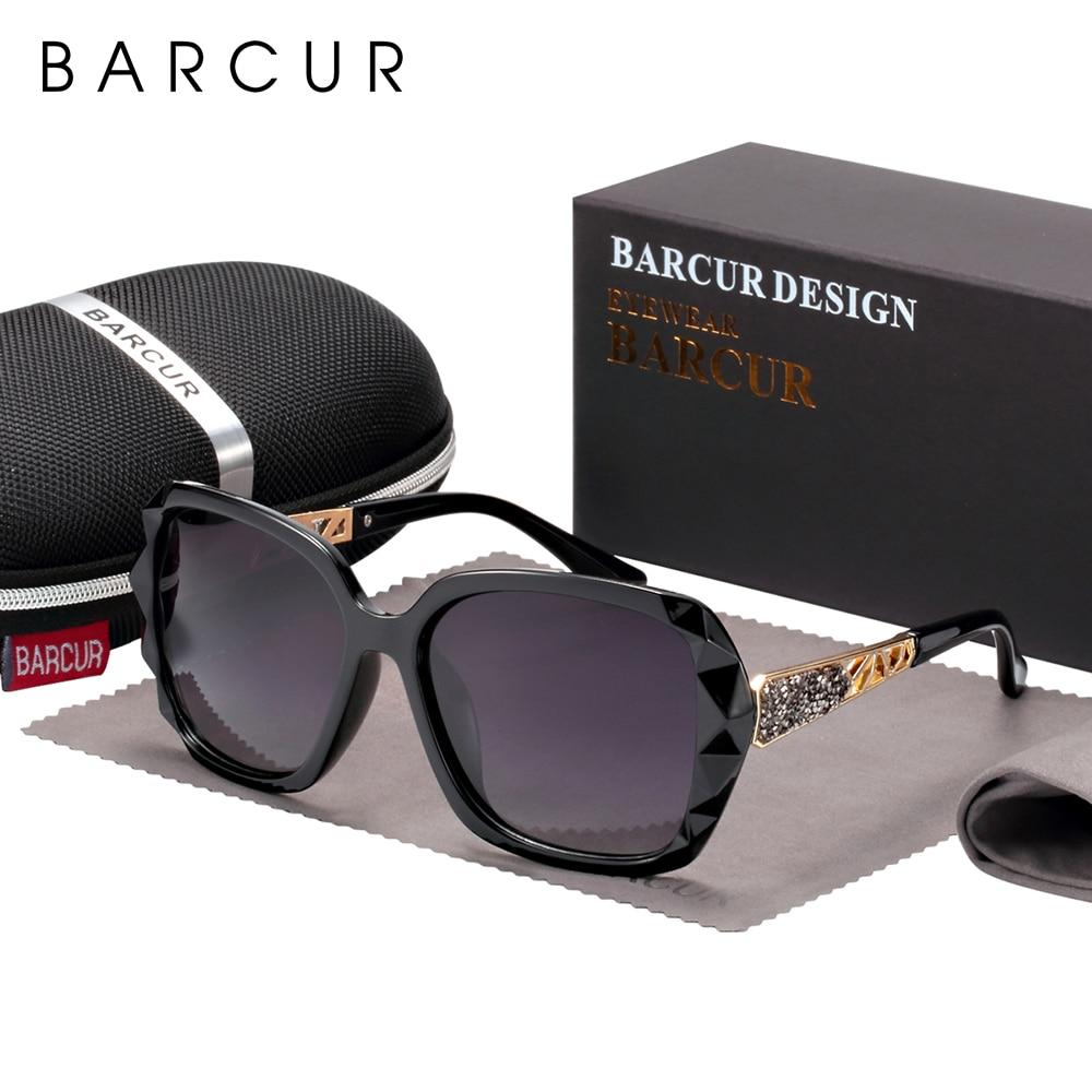 BARCUR Original Sunglasses Women Polarized Elegant Design For Ladies Sun Glasses Female 11