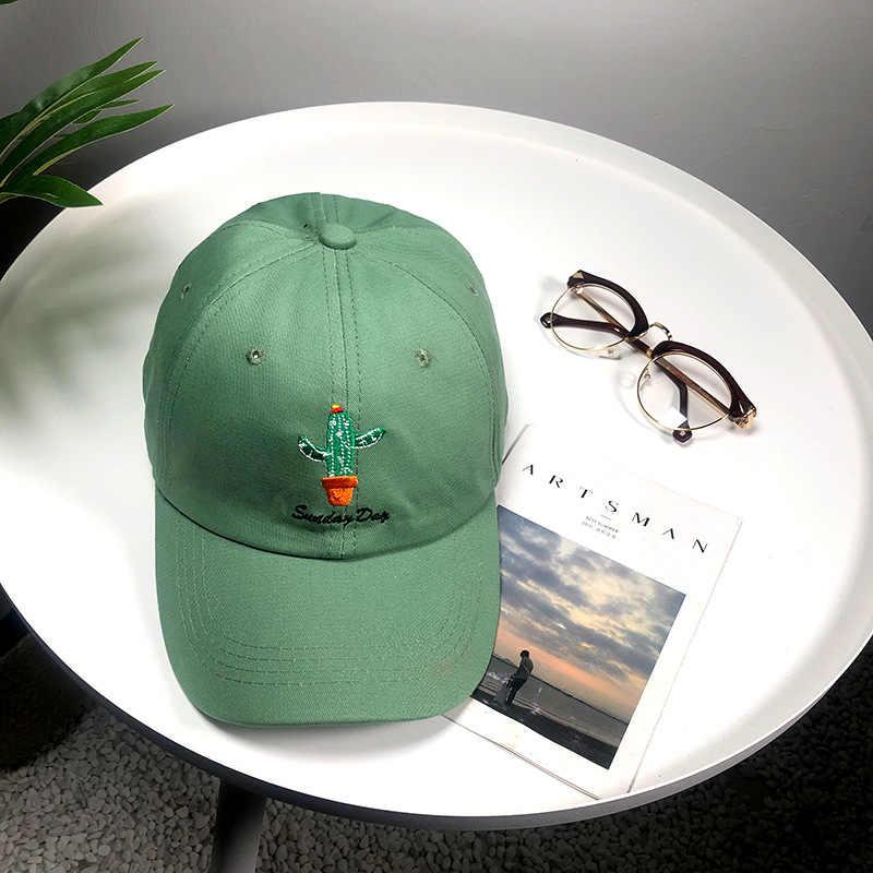 ที่ดีที่สุดคุณภาพแฟชั่นแคคตัสหมวกผ้าฝ้ายผู้ชายผู้หญิงเบสบอลหมวกปรับ Hip-Hop Snapback หมวกหมวก