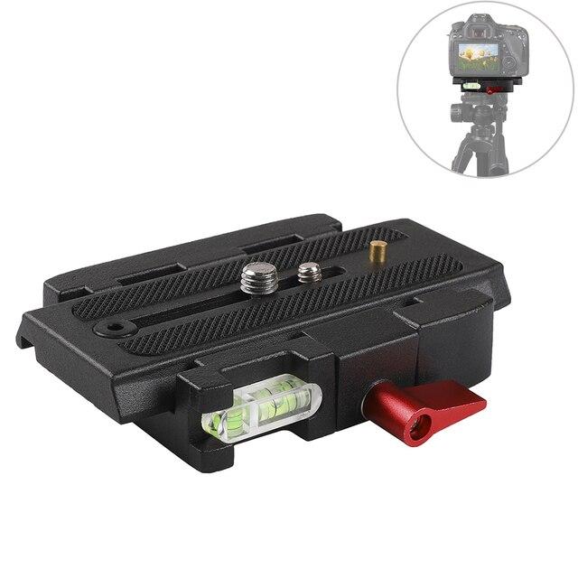 Accessori Per la fotografia 1/4 Vite P200 Piastra A Sgancio Rapido per Arca Swiss CanonNikonSony Z6 A6400 Fujifilm XT3 3/8 Piastra A Vite