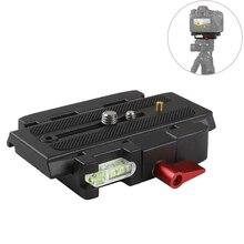 Photography Accessories 1/4 Screw P200 Quick Release Plate for Arca Swiss CanonNikonSony Z6 A6400 Fujifilm XT3 3/8 Screw Plate