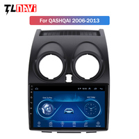 9 inch IPS 2.5D Car Multimedia Video Player GPS Navigation Android 8.1 Auto Radio For Nissan Qashqai 2006 2013