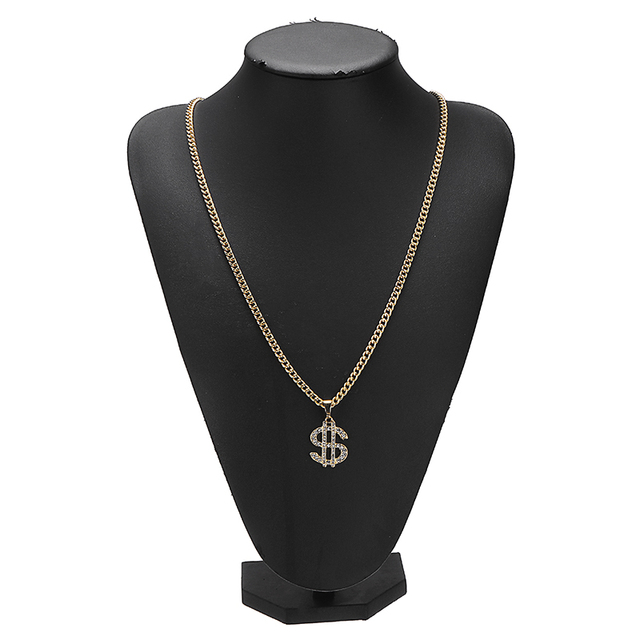 US Dollar Money Sign Pendant Necklaces 8