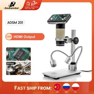 Image 1 - Andonstar ADSM201 HDMI Output Digital Microscope Long Object Distance Lens for Material Inspection, Electronic Repairing