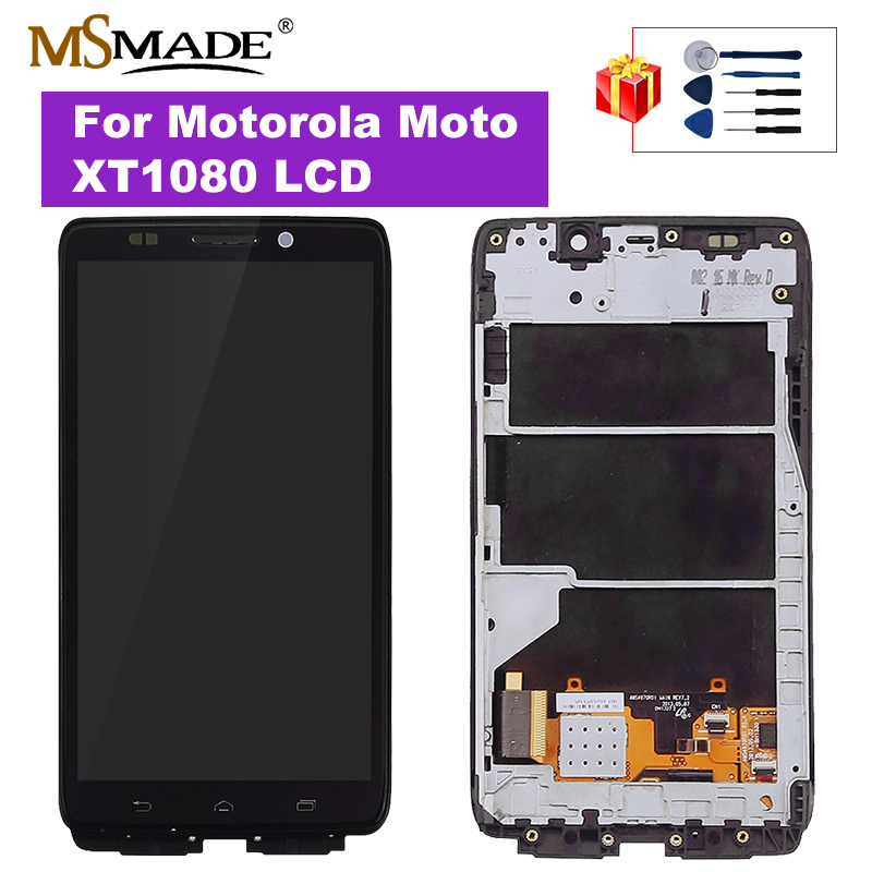For Motorola Moto XT1080 LCD Display Touch Screen Digitizer Replacement Parts For Motorola Moto XT1080 LCD