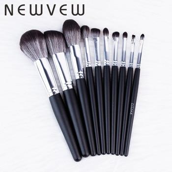 10pcs/set makeup brushes set for cosmetic foundation powder blush eyeshadow kabuki blending make up brush beauty tool недорого