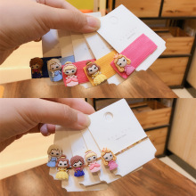 Korean Fashion Temperament Princess Cute Cartoon Hairpins for Child Girl Simple Beautiful BB Clip Hair Accessories