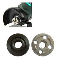 2pc/set Angle Grinder Flange nut disc Inner Outer Lock cutting Power tool replacement part for aperture 16mm-20mm circular saw