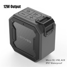 Hifi Bass High Power Bluetooth Speaker Waterproof Music Center Box  Portable Usb Aux Boombox Loudspeaker Micro Sd Soundbar mp3 music player box metal boombox loudspeaker portable bluetooth speaker usb charging wireless boombox indoor 800mah battery