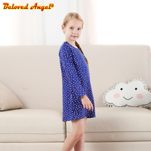 Girls Dress Cotton Long Sleeve Princess Dress Children Costume Robe Fille Kids Party Dresses Baby Girl Clothes 3-8T