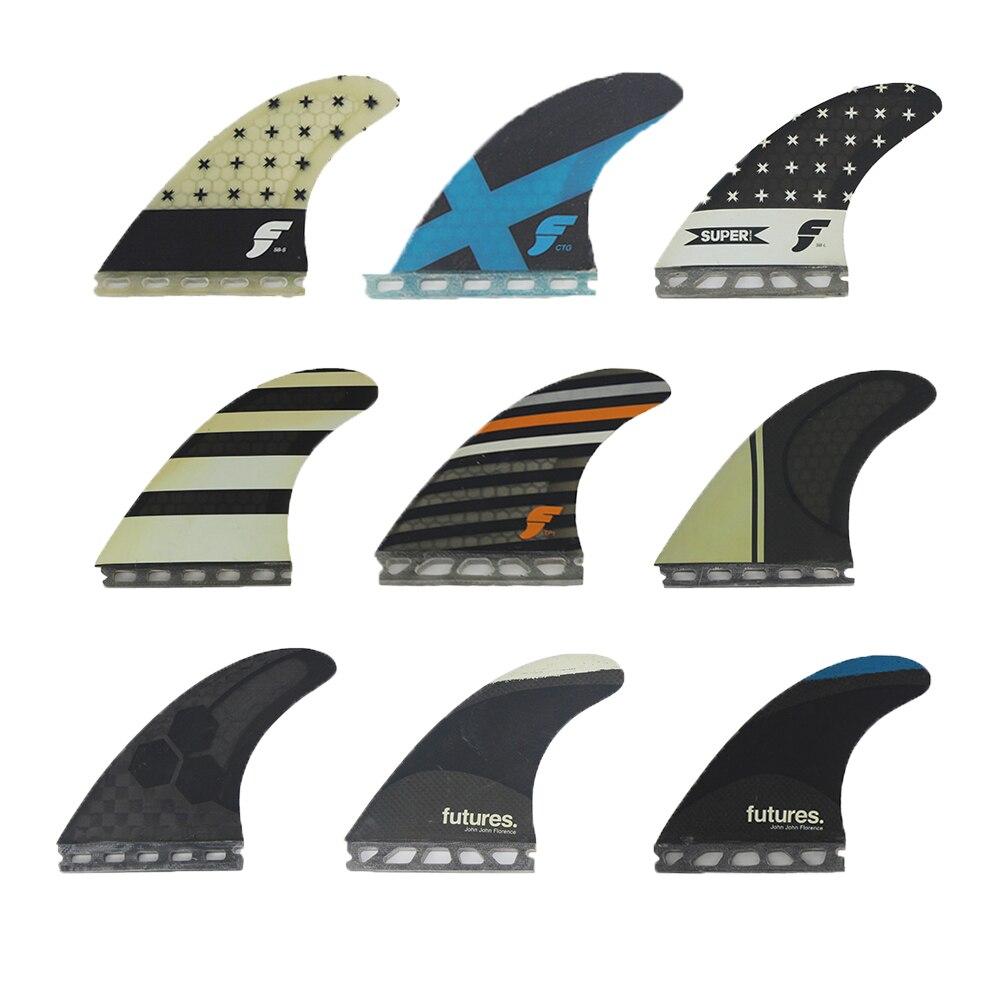 Плавники для доски для серфинга, плавники Thruster Future Original B Grade
