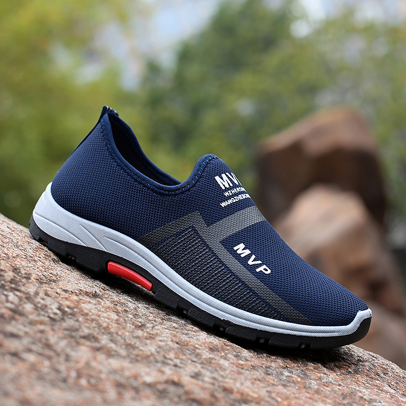 Summer Mesh Men Shoes Lightweight Sneakers Men Fashion Casual Walking Shoes Breathable Slip on Mens Loafers Zapatillas Hombre 4