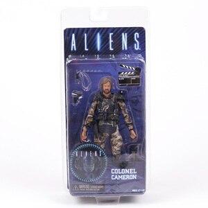 Image 2 - NECA エイリアン大佐キャメロン 7 アクションフィギュアコレクション模型玩具 Figurals