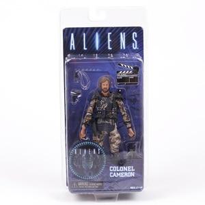 Image 2 - NECA ALIENS Kolonel Cameron 7 Action Figure Collection Model Toy Figurals