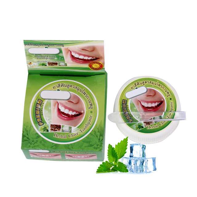 10g/25g צמח מנטה הלבנת משחת שיניים טבעי צמחים שן שן להדביק משחת שינים להסיר כתם אנטיבקטריאלי אלרגי ג ל
