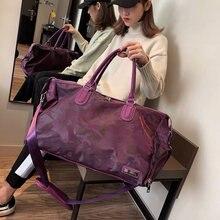 Модная дорожная сумка вместительная ручная основная багажная