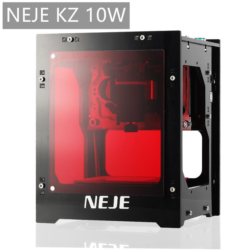 New NEJE DK-8-KZ 10000MW New High Speed Laser Engraving Machine DIY CNC Laser Engraver Printer Handicraft Wood Burning Tools