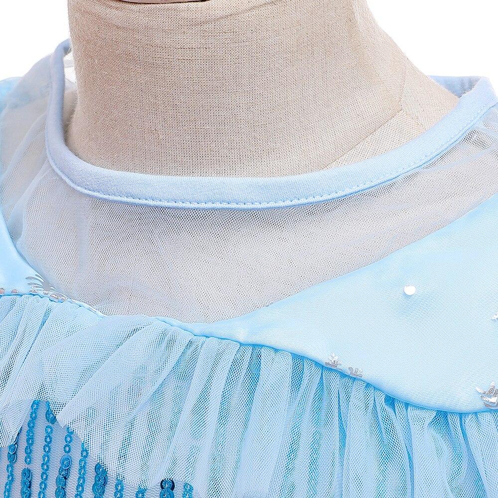 H43741b27f72a46fea0cb13194d1efeafn Unicorn Dress Birthday Kids Dresses For Girls Costume Halloween Christmas Dress Children Party Princess Dresses Elsa Cinderella