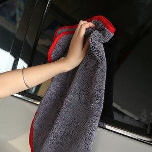 Image 1 - Chiffon de séchage en microfibre à poils longs, serviette Super absorbante sans tourbillon pour fenêtre de peinture, haute Performance de teinture, 40x60cm