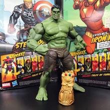 ML légende du film de Super héros The Avenger, Hulk, figurine daction ample avec gantlet infini