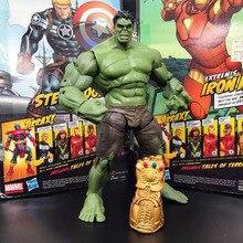 Ml legends super herói o vingador série de filmes incrível hulk com infinito gauntlet solto figura de ação