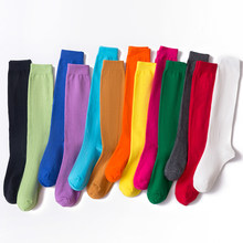Chaussettes longues à la mode pour femmes et filles, vente en gros, nouvelle collection