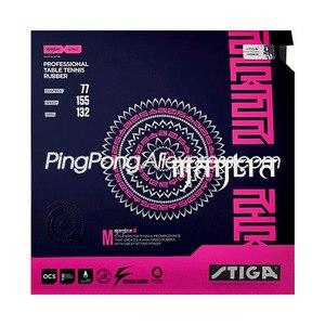 Image 2 - Stiga mantra m/h 卓球ラバー (日本製) ピップインオリジナル stiga マントラピンポンスポンジ