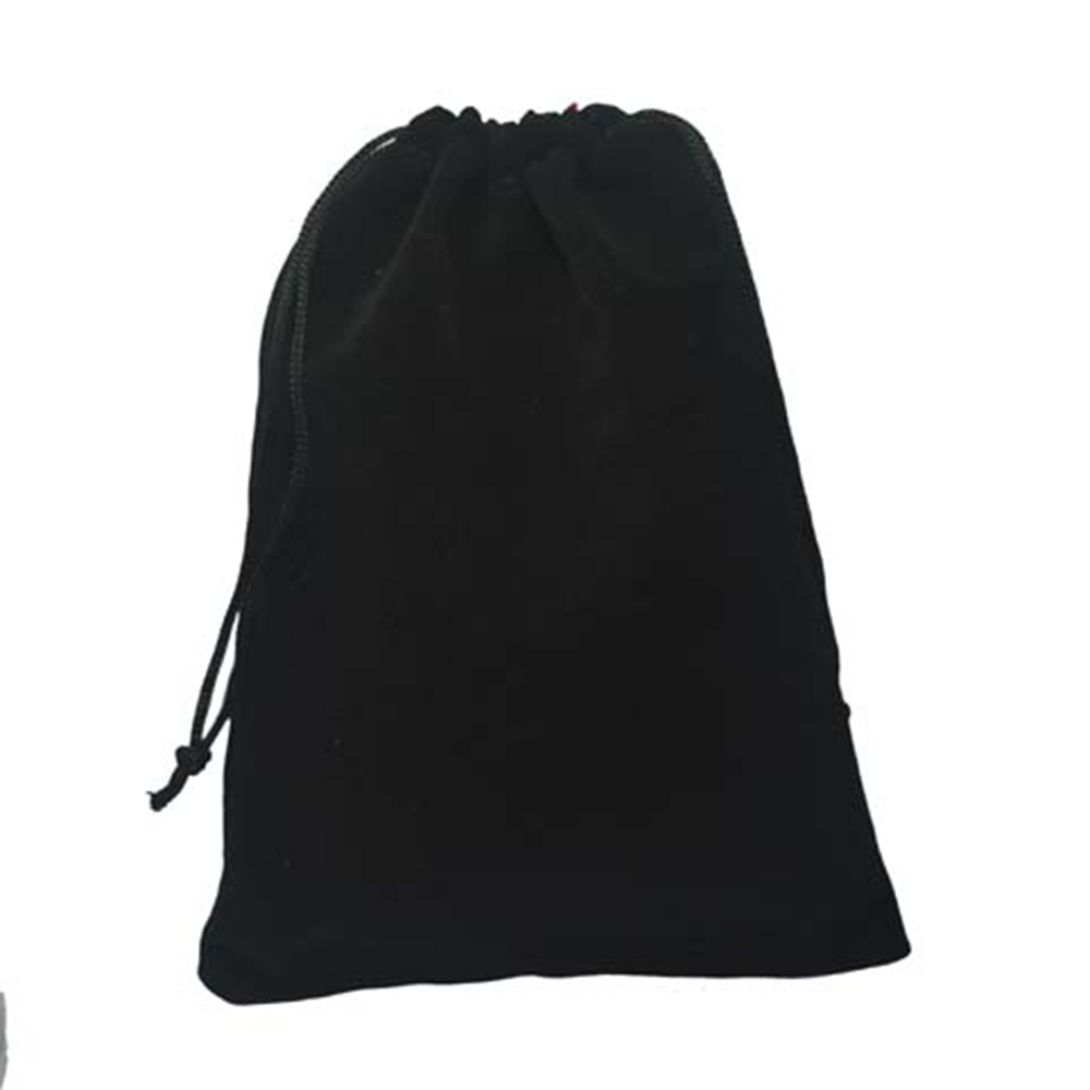 25PCS Black Velvet Drawstring Jewelry Wrapping Pouches Gift Bags for Packaging Birthday Party Supply in Gift Bags Wrapping Supplies from Home Garden
