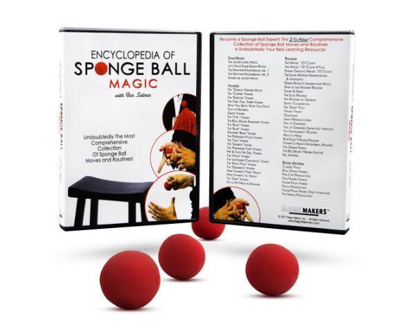 Ben Salinas - Encyclopedia Of Sponge Balls-Magic Tricks