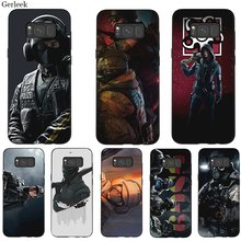 Phone Case Silicone For Samsung J6 A70 A60 A50 A40 A30 A20 A10 A9 A8 A7 6 A5 A3 Cover Voltron Rainbow Six Siege YuGiOh Shell(China)