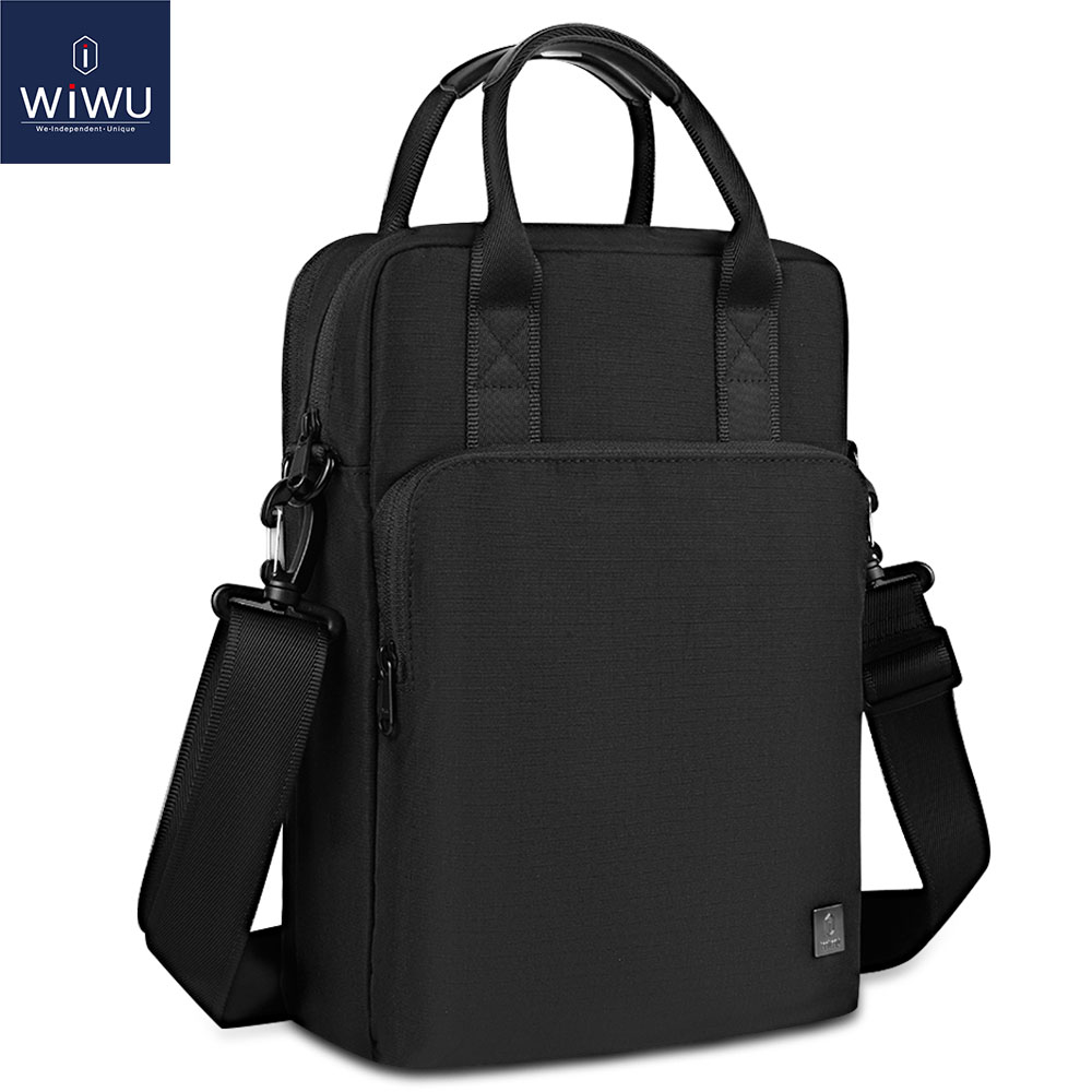 WIWU Laptop Bag for iPad Pro 12.9 inch Waterproof Shoulder Bag for MacBook Pro 13 Air 13 2020 Carry Case for iPad Pro 12.9 11 10(China)