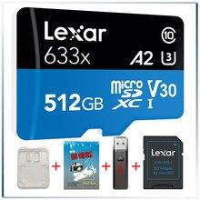 Карта памяти Lexar 633x Micro SD, карта памяти Gopro Micro SD 512 ГБ, карта памяти, флеш карта, высокопроизводительные карты 633x MicroSDHC, карта памяти для карт с функцией «UHS I»