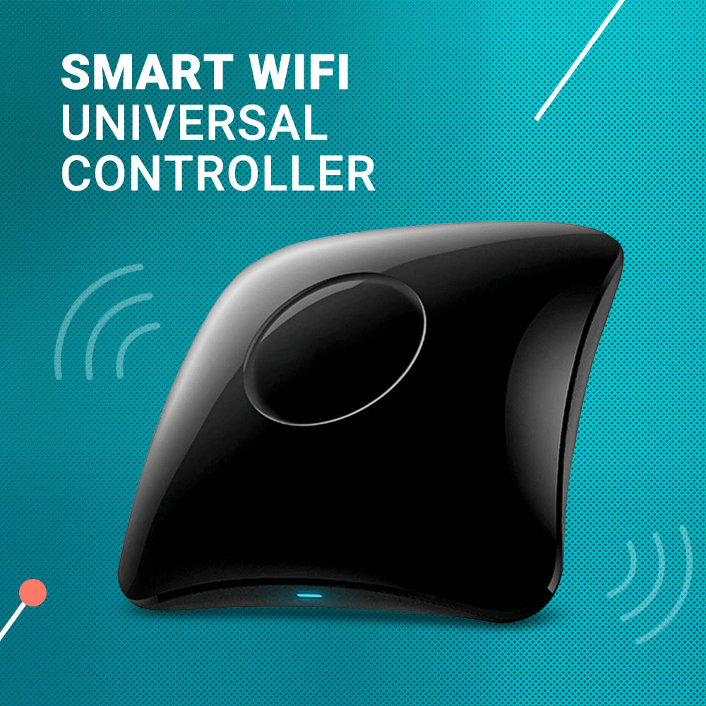 RM4C PRO Smart WiFi Universal Wireless Remote Controller IR RF Remote Control Timing Function For Home Appliances
