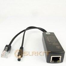 DSLRKIT Atividade PoE Splitter Power Over Ethernet 48V para 12V 1A 2A IEEE802.3af tipo Padrão